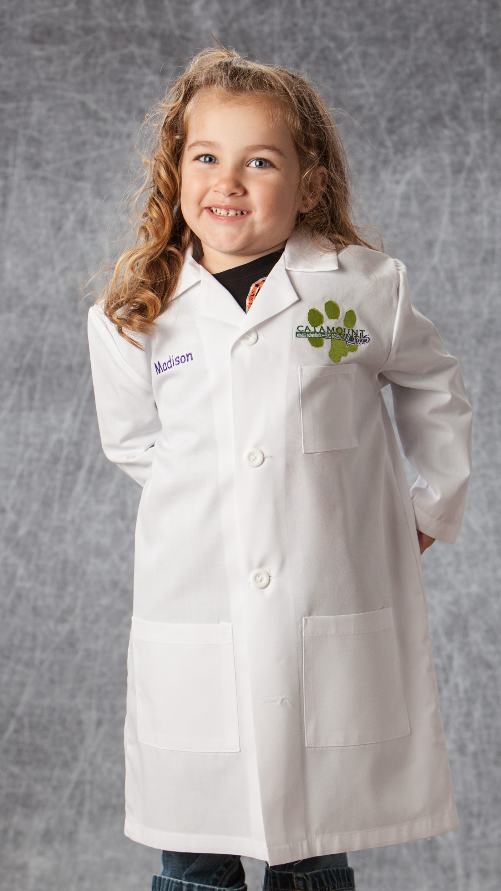 Catamount Kids Lab Coat Order Form